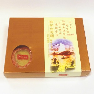鮮味魚蓉麵金裝禮盒